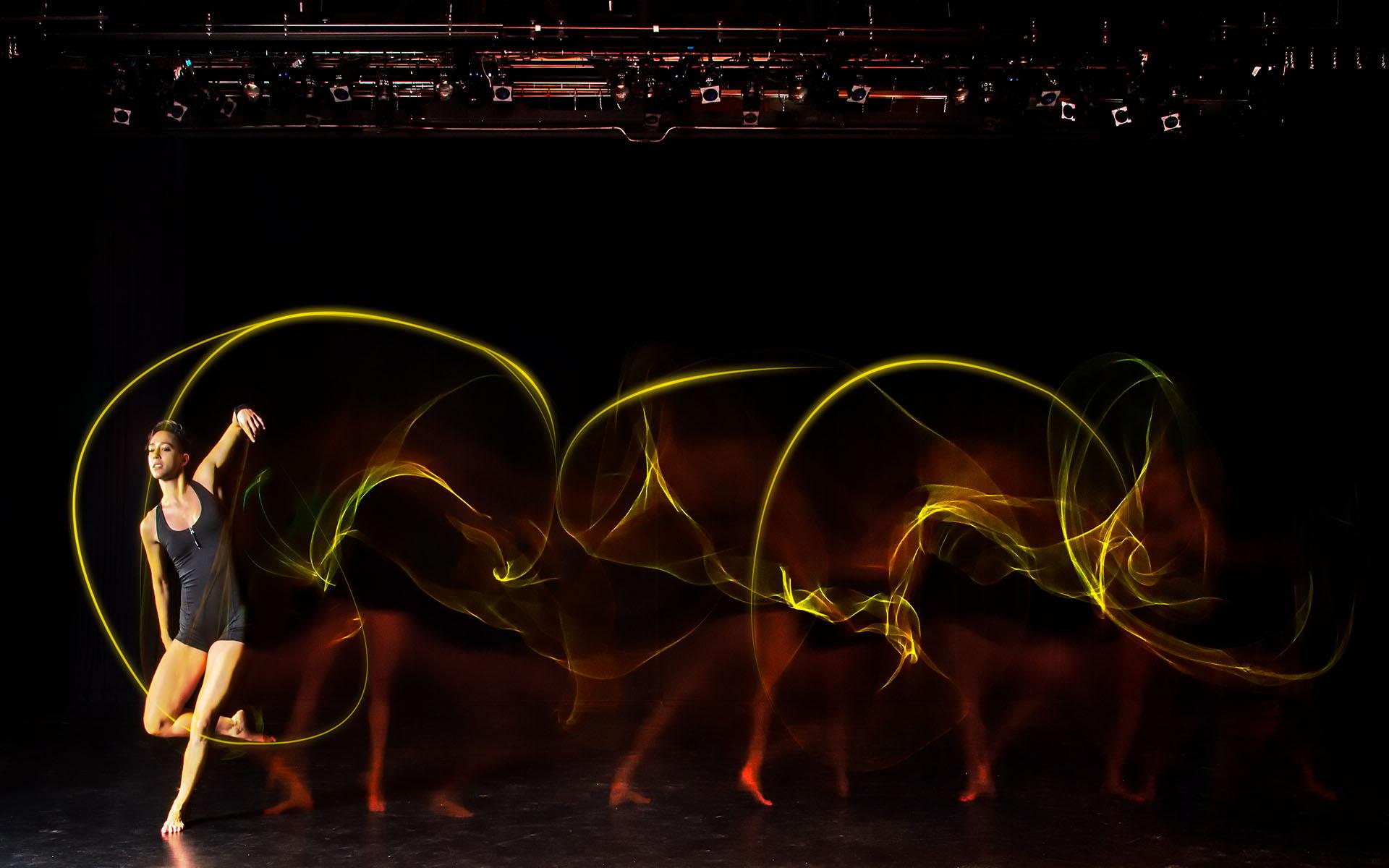 Light Painting Dance