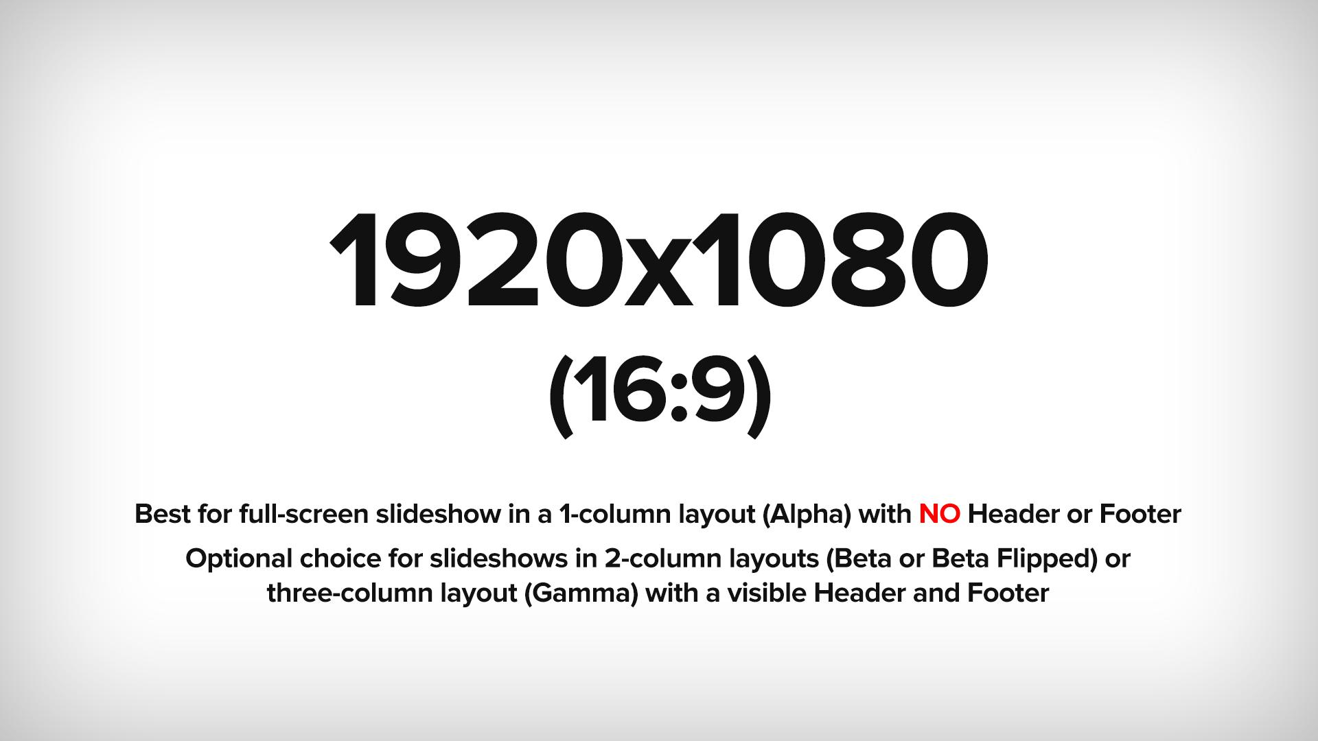1920x1080 (16:9 ratio) Example image