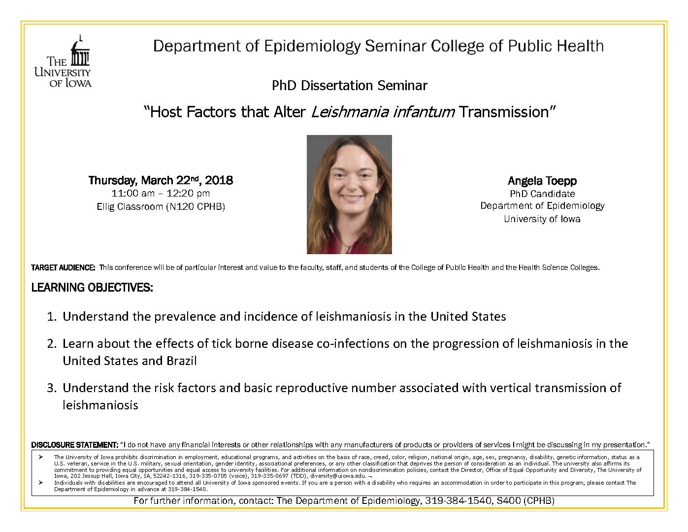 uiowa epidemiology dissertation