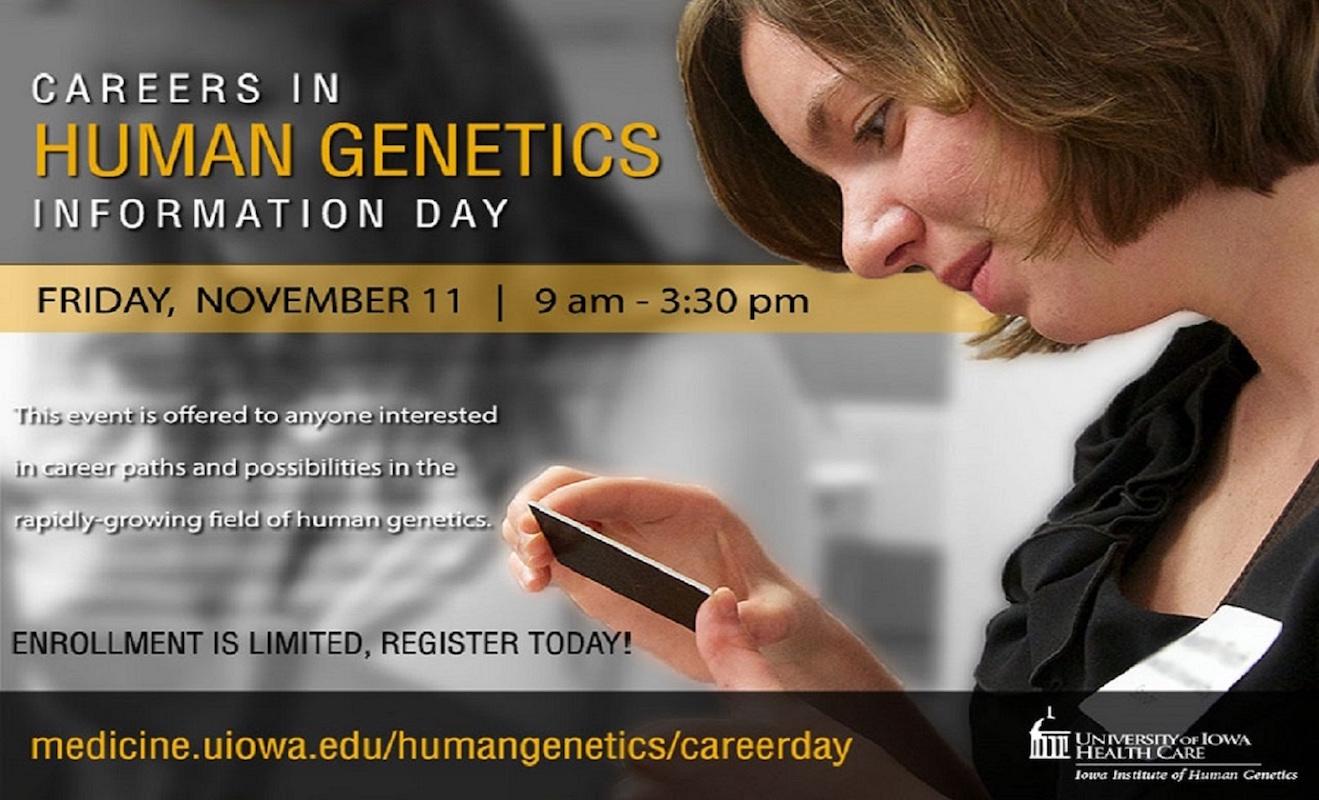 Careers in Human Genetics event