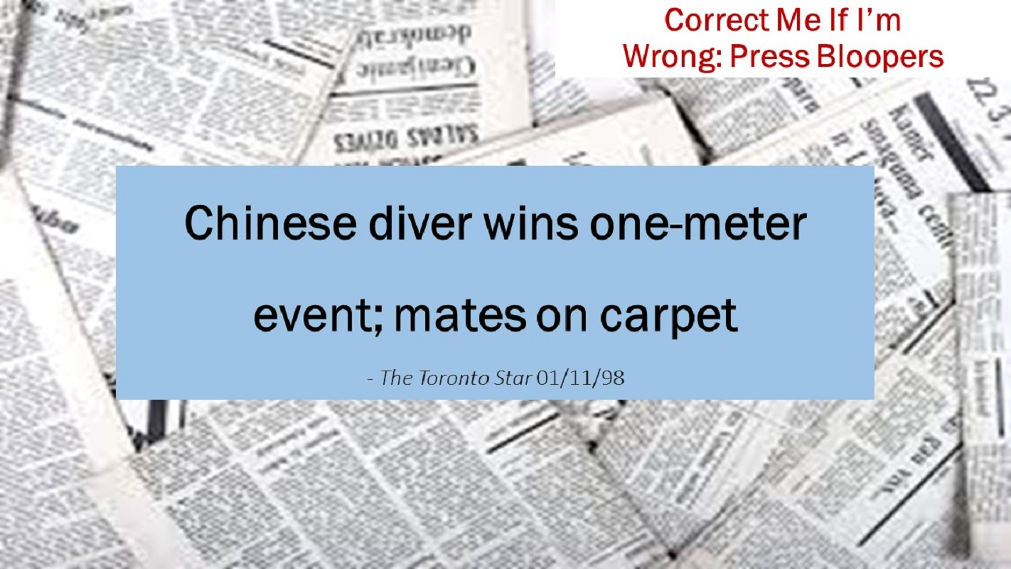 Chinese diver