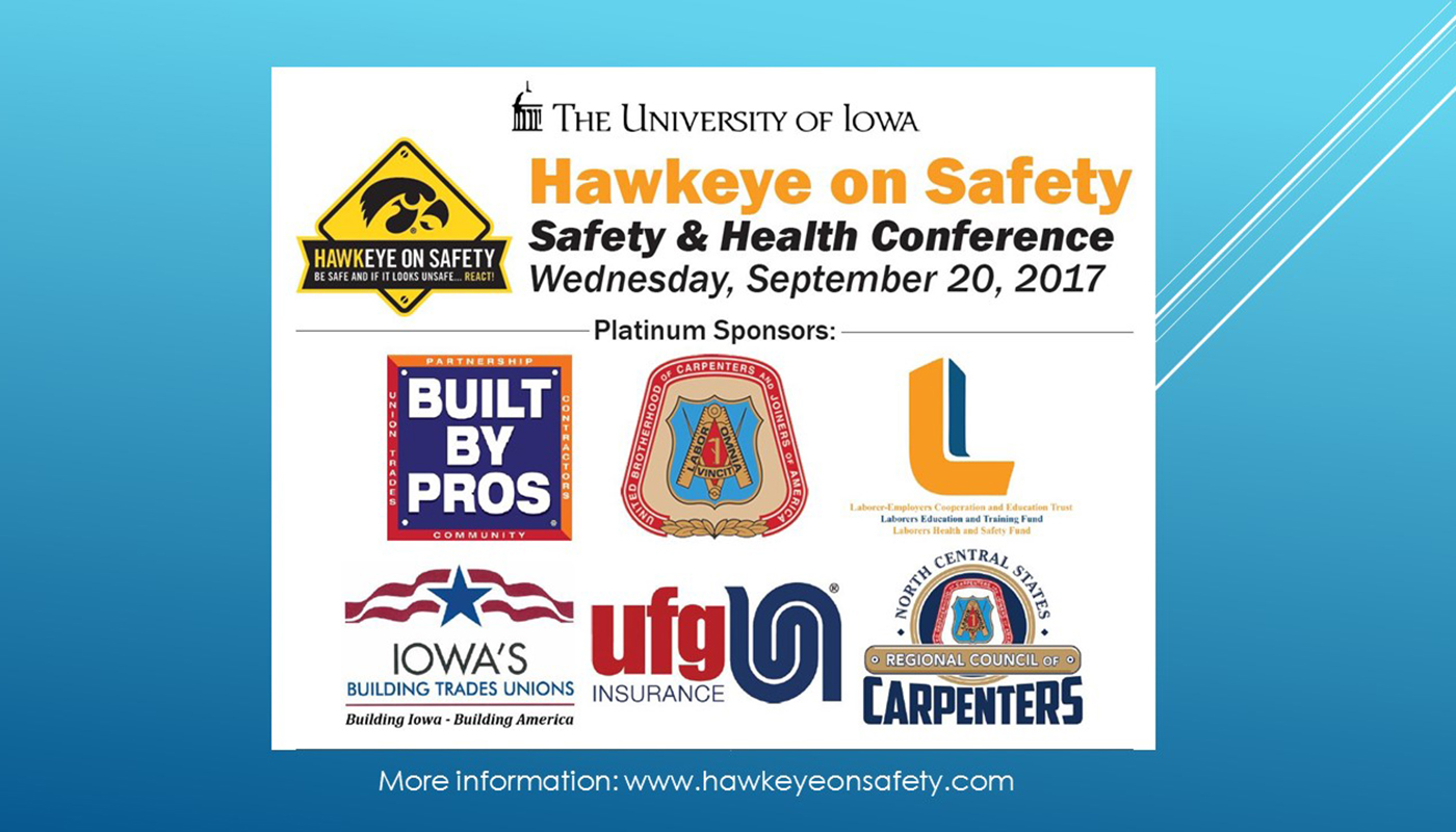 Hawkeye on Safety Conference