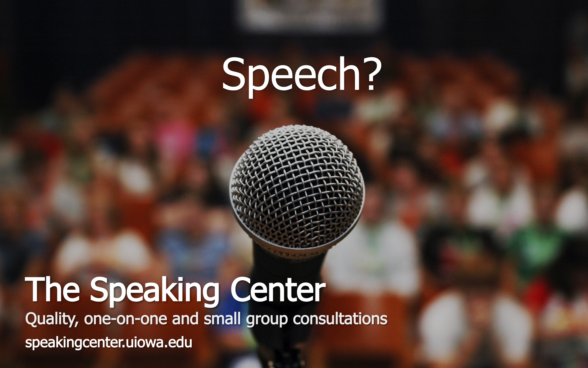 Speaking Center