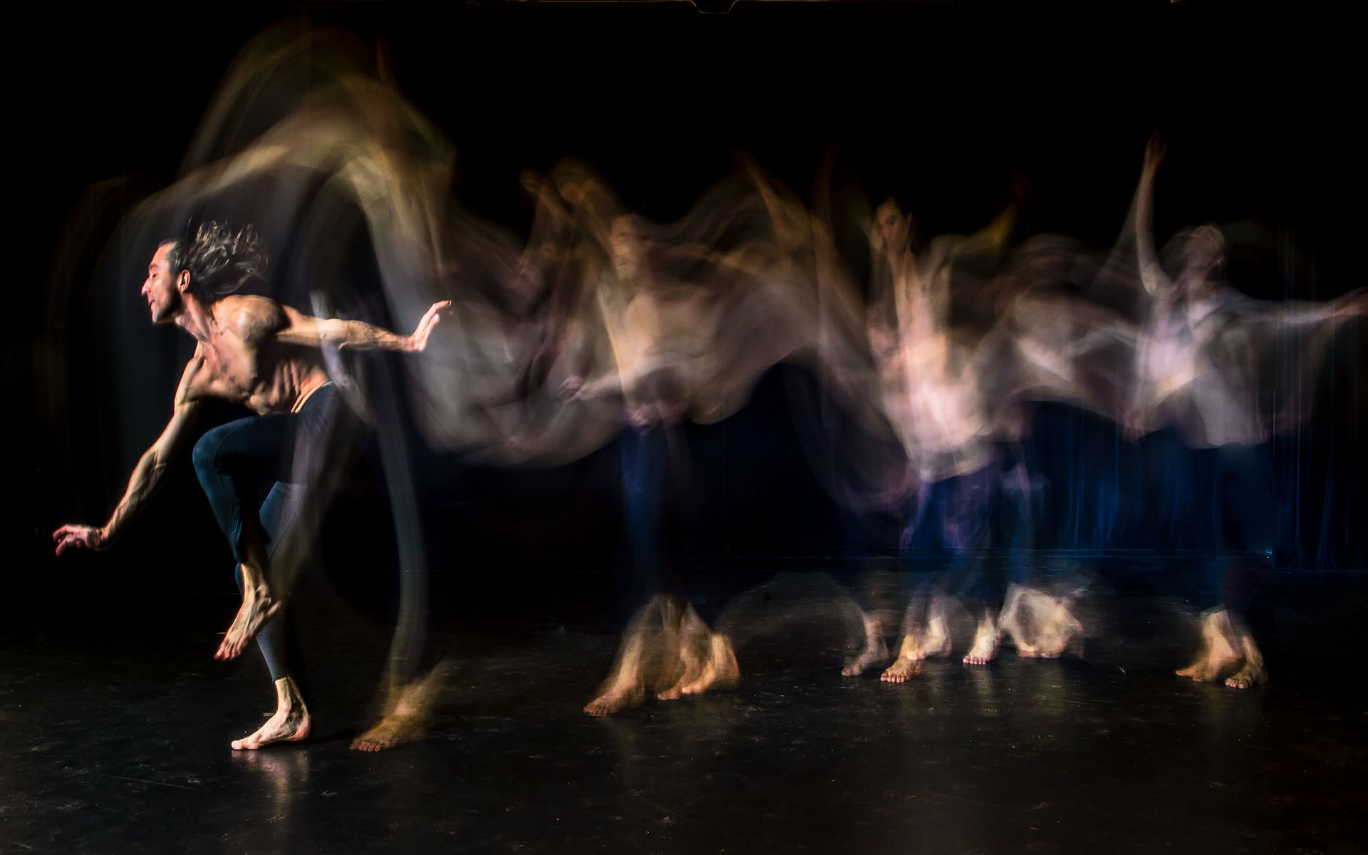 Light Painting Dance