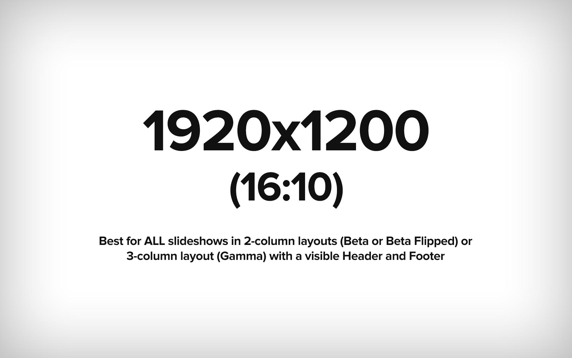 1920x1200 (16:10 ratio) Example image