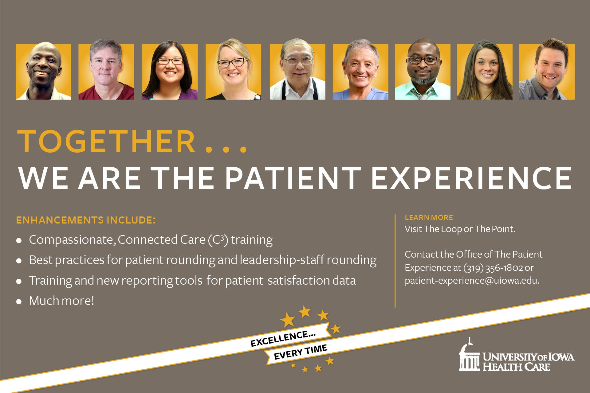 Together... We are the Patient Experience