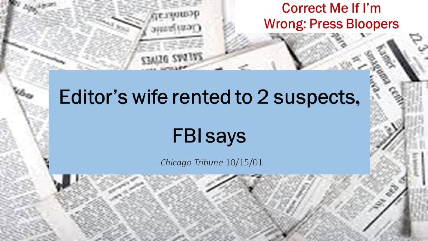 Editor's Wife