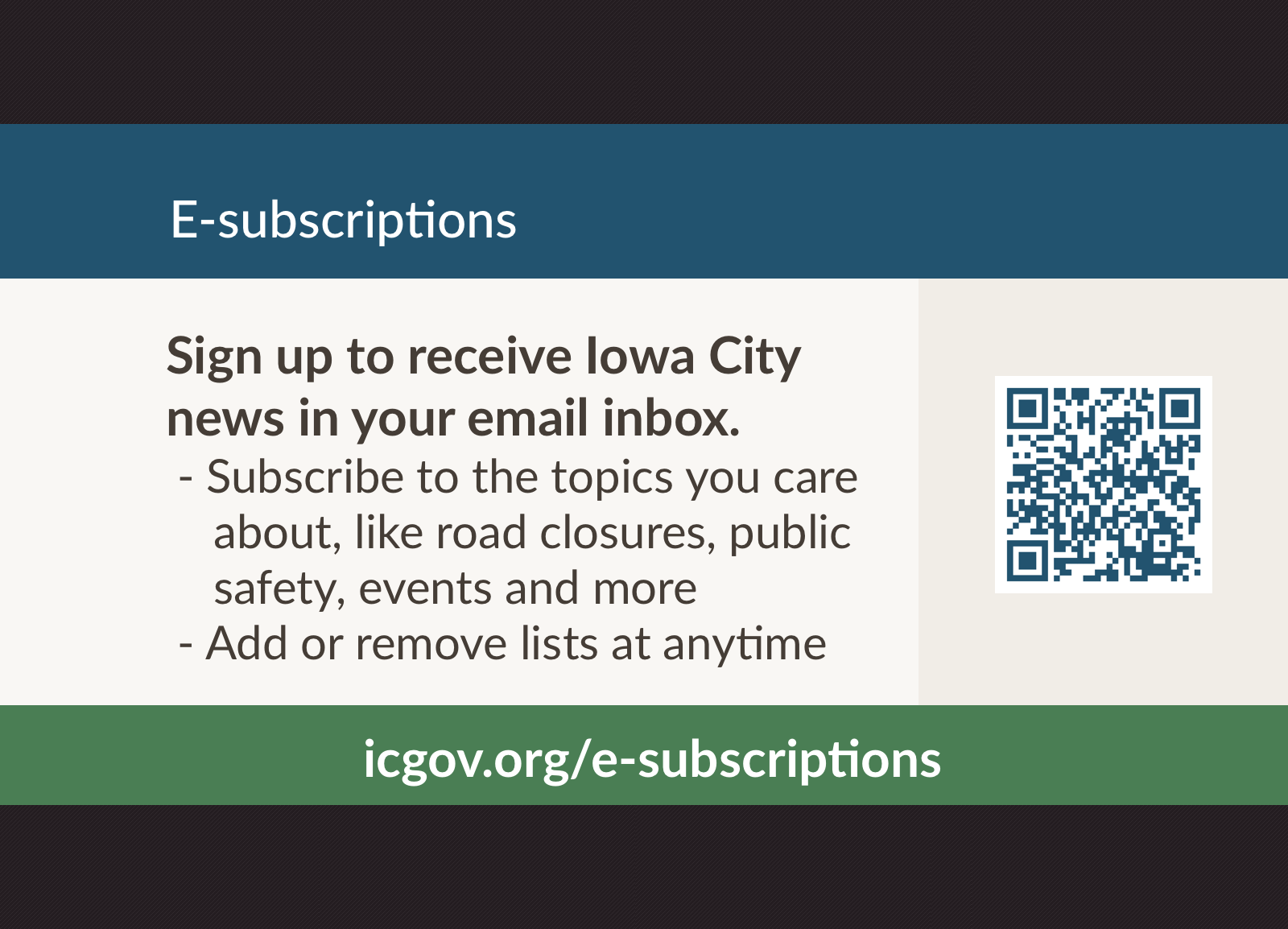 e-subscriptions