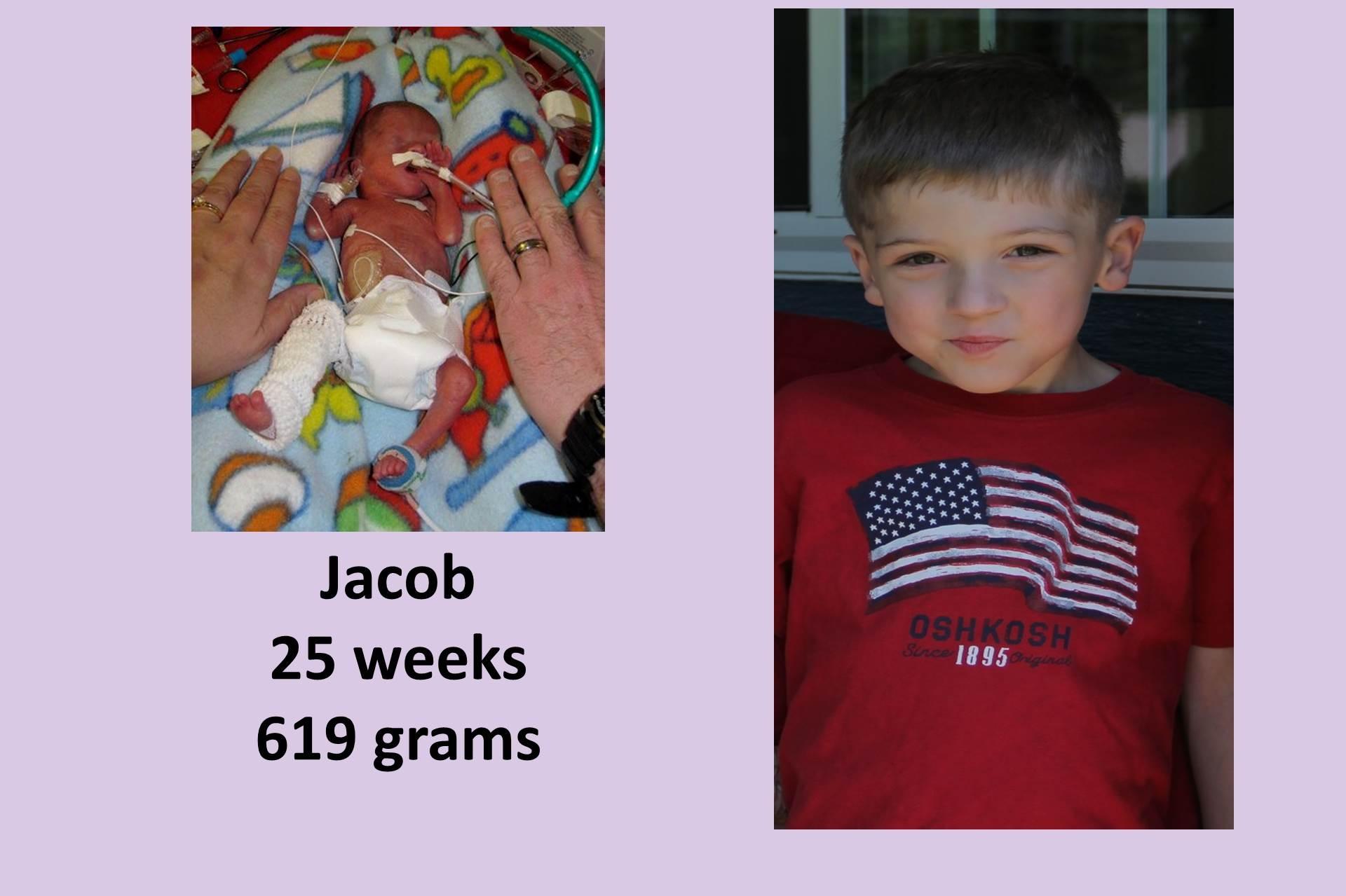 Hallway of hope: Jacob
