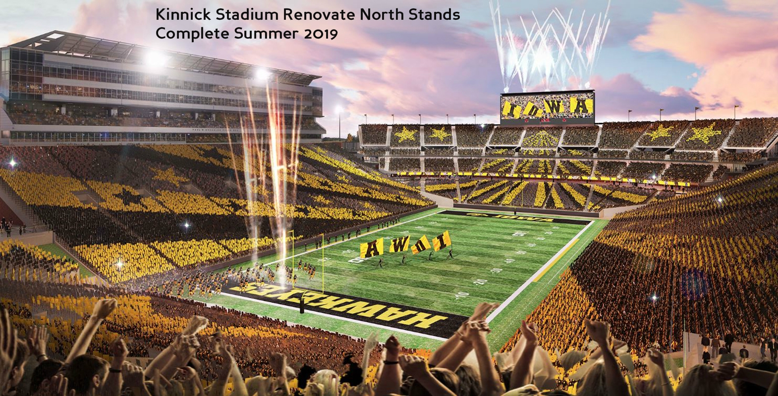 Kinnick Stadium Renovate North Stands