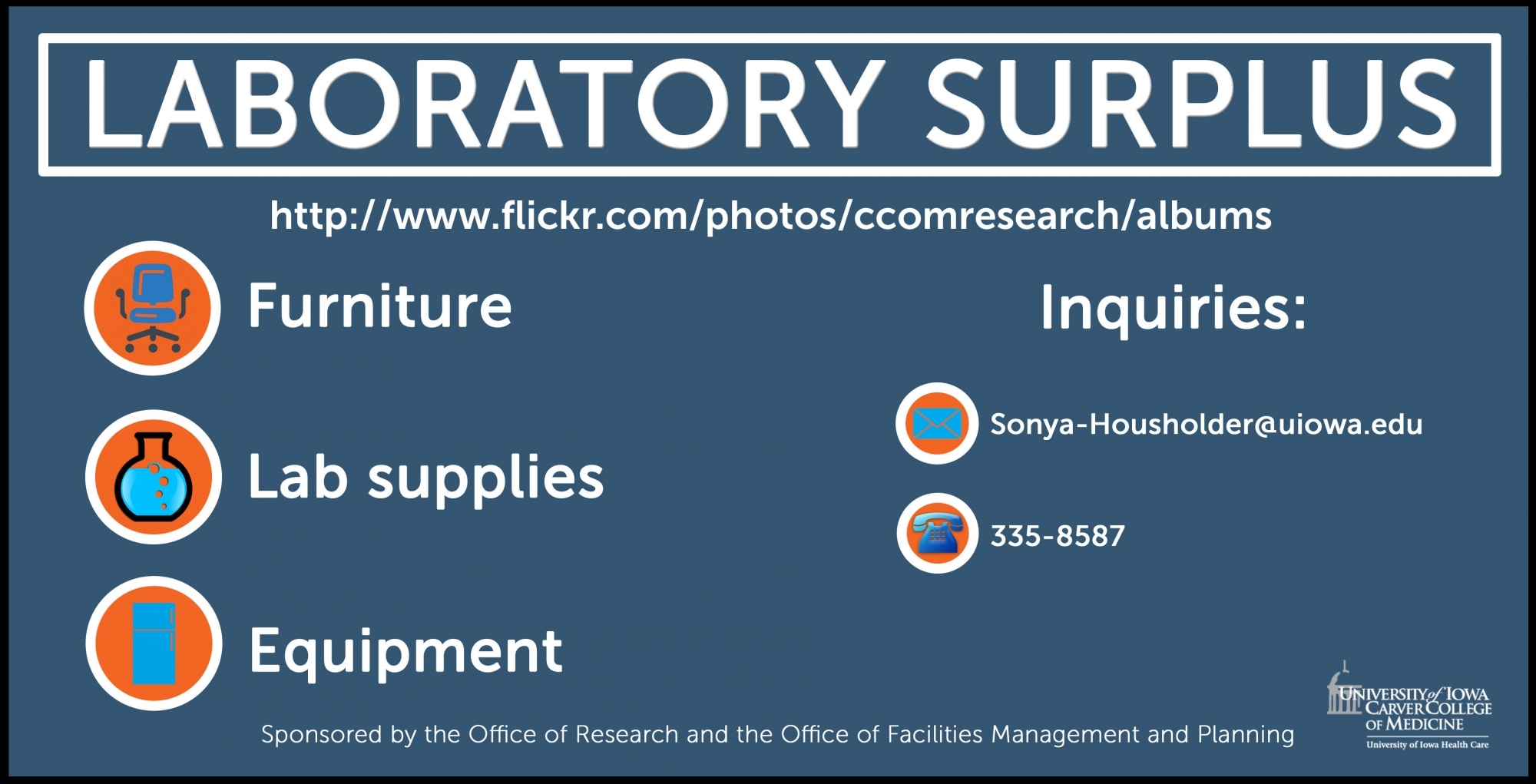 CCOM Laboratory Surplus slide