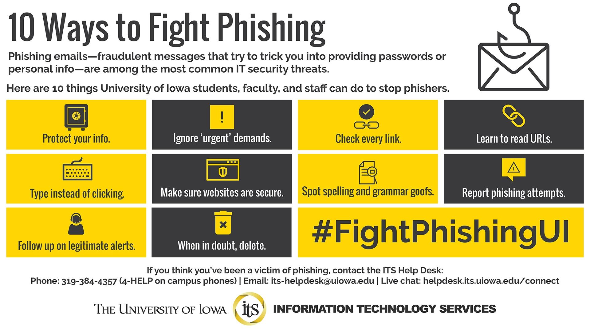 10 Ways To Fight Phishing