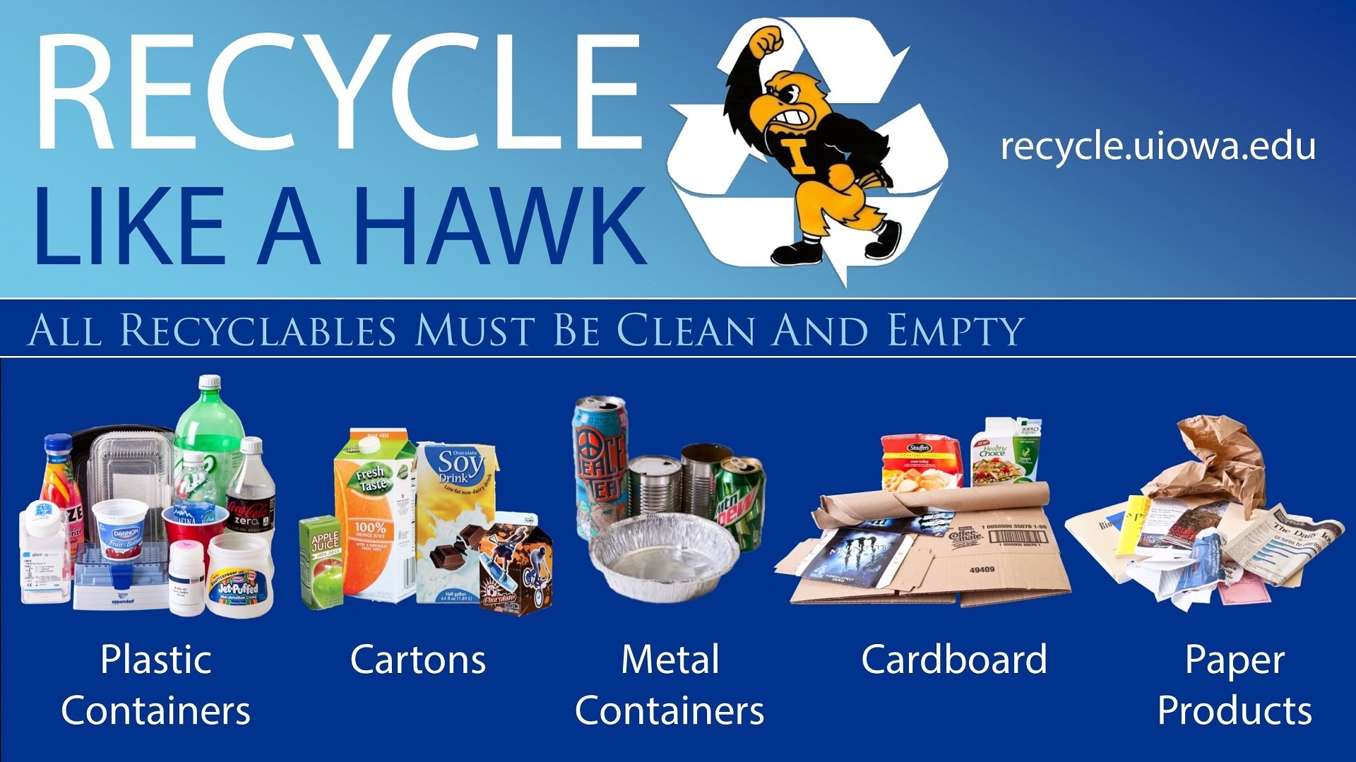 Recycle Like a Hawk