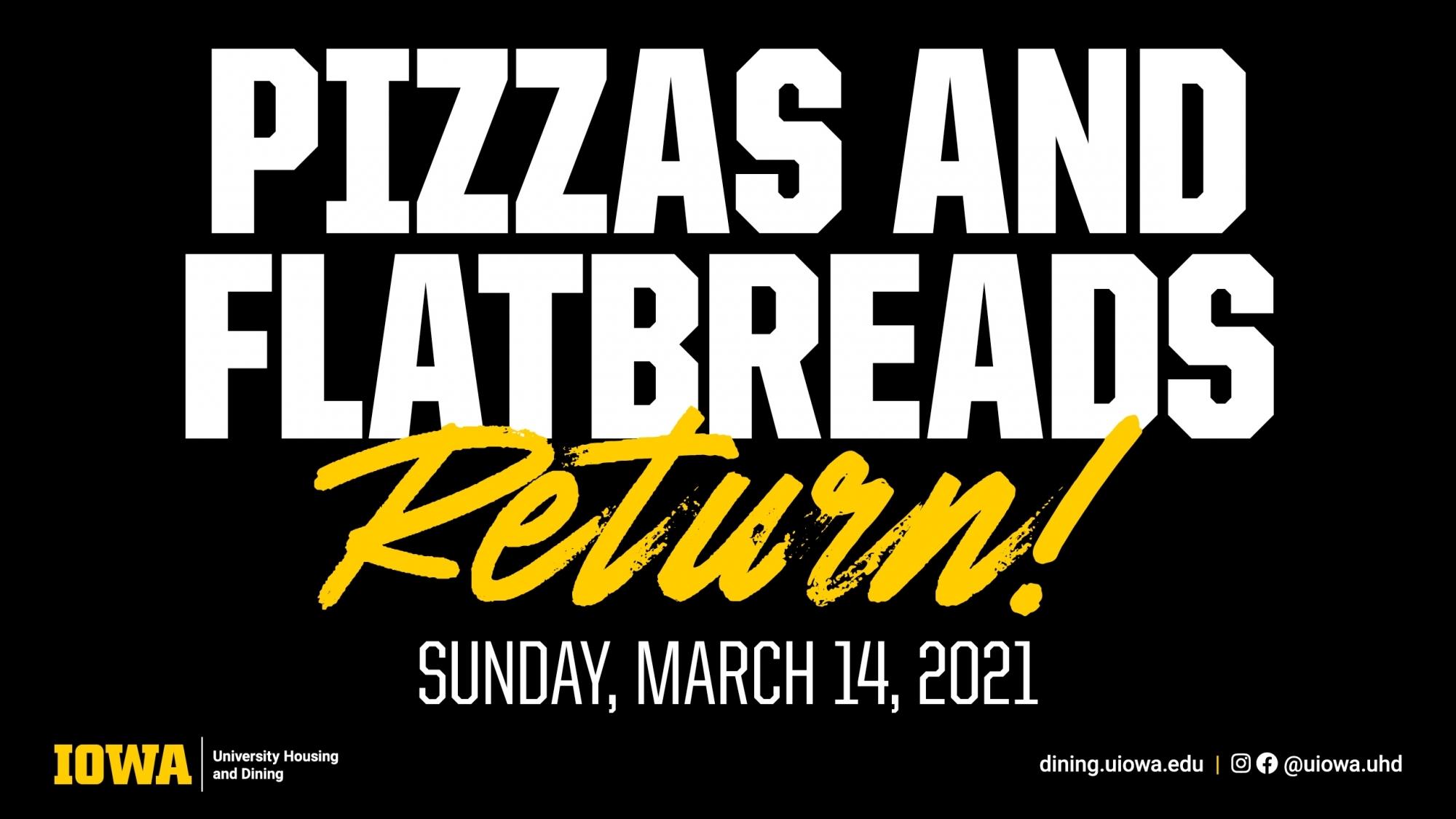 pizzas return