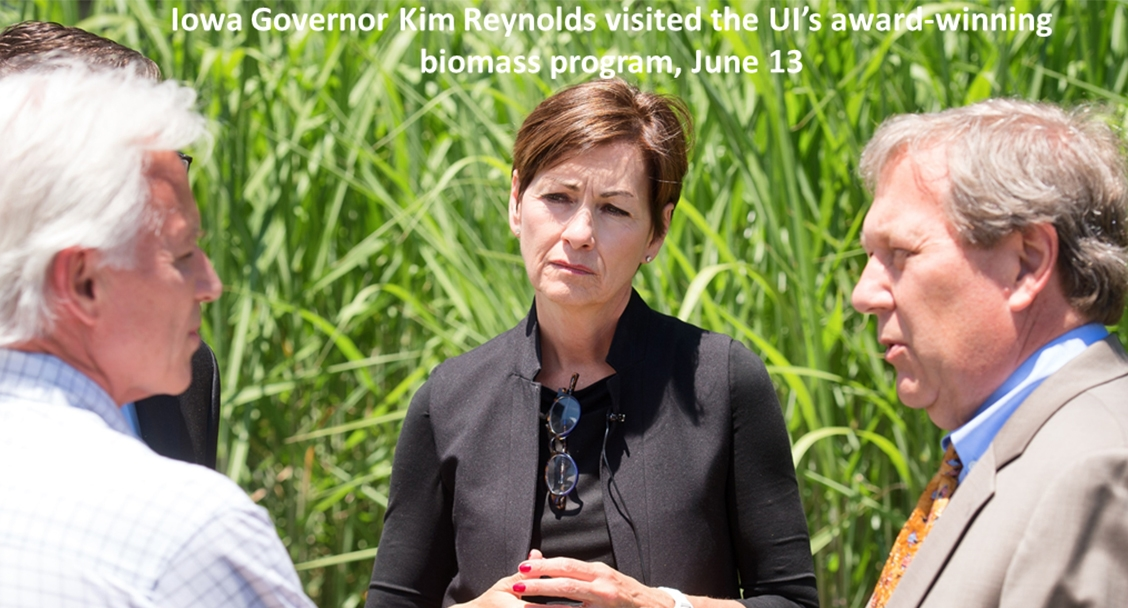 Governor Reynolds visits Facilities Management