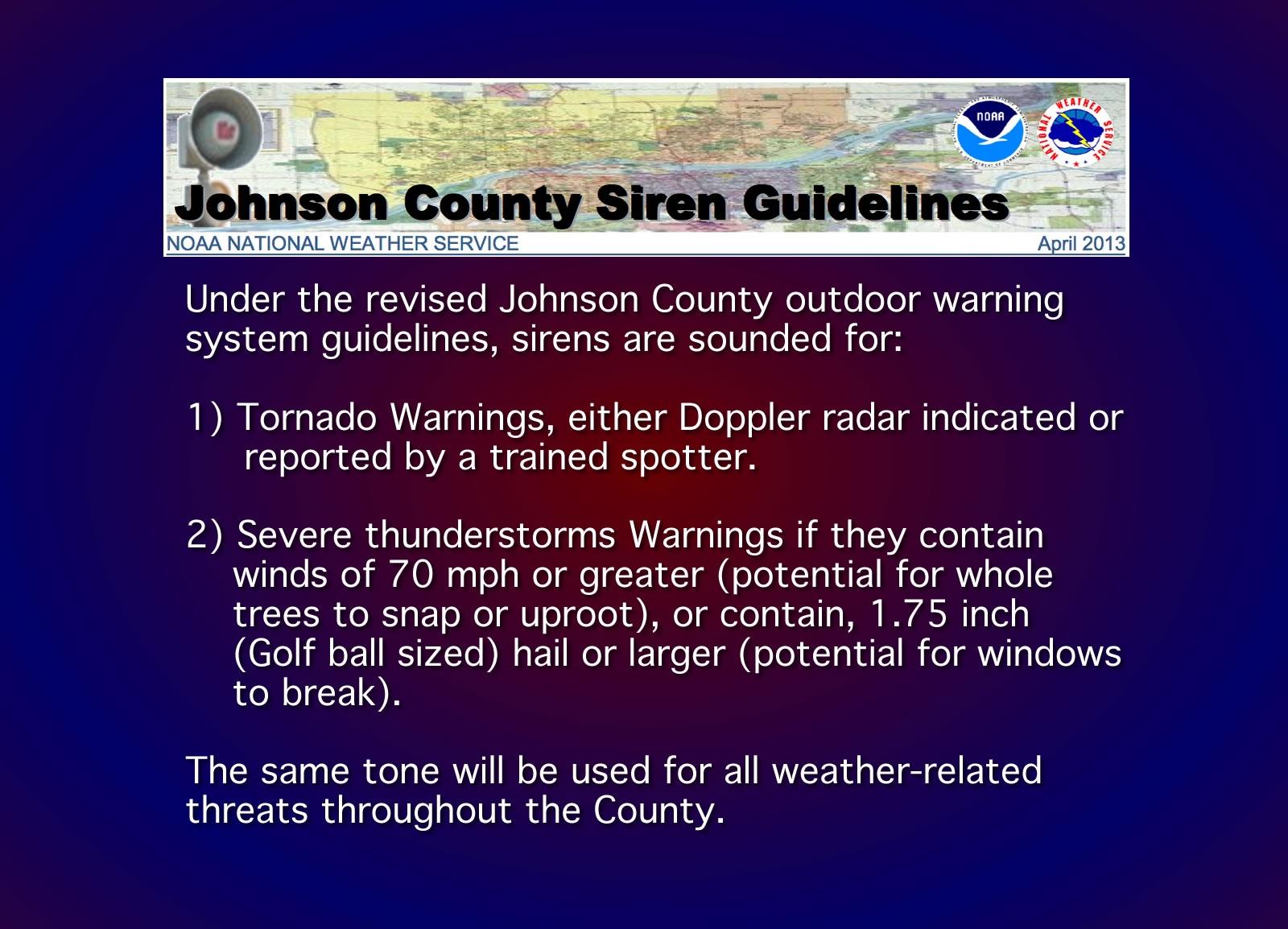 siren guidelines1