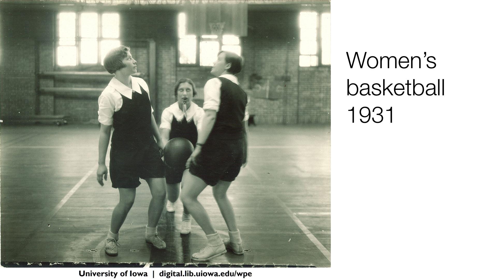 Women's basketball, 1931