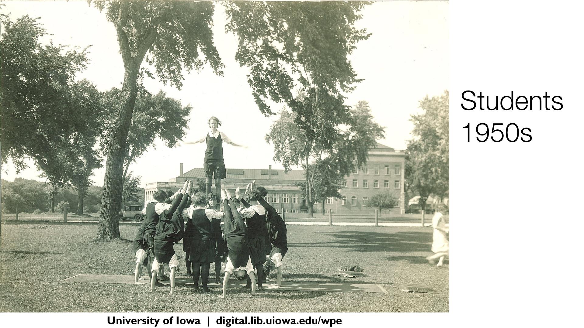 Students, 1950s