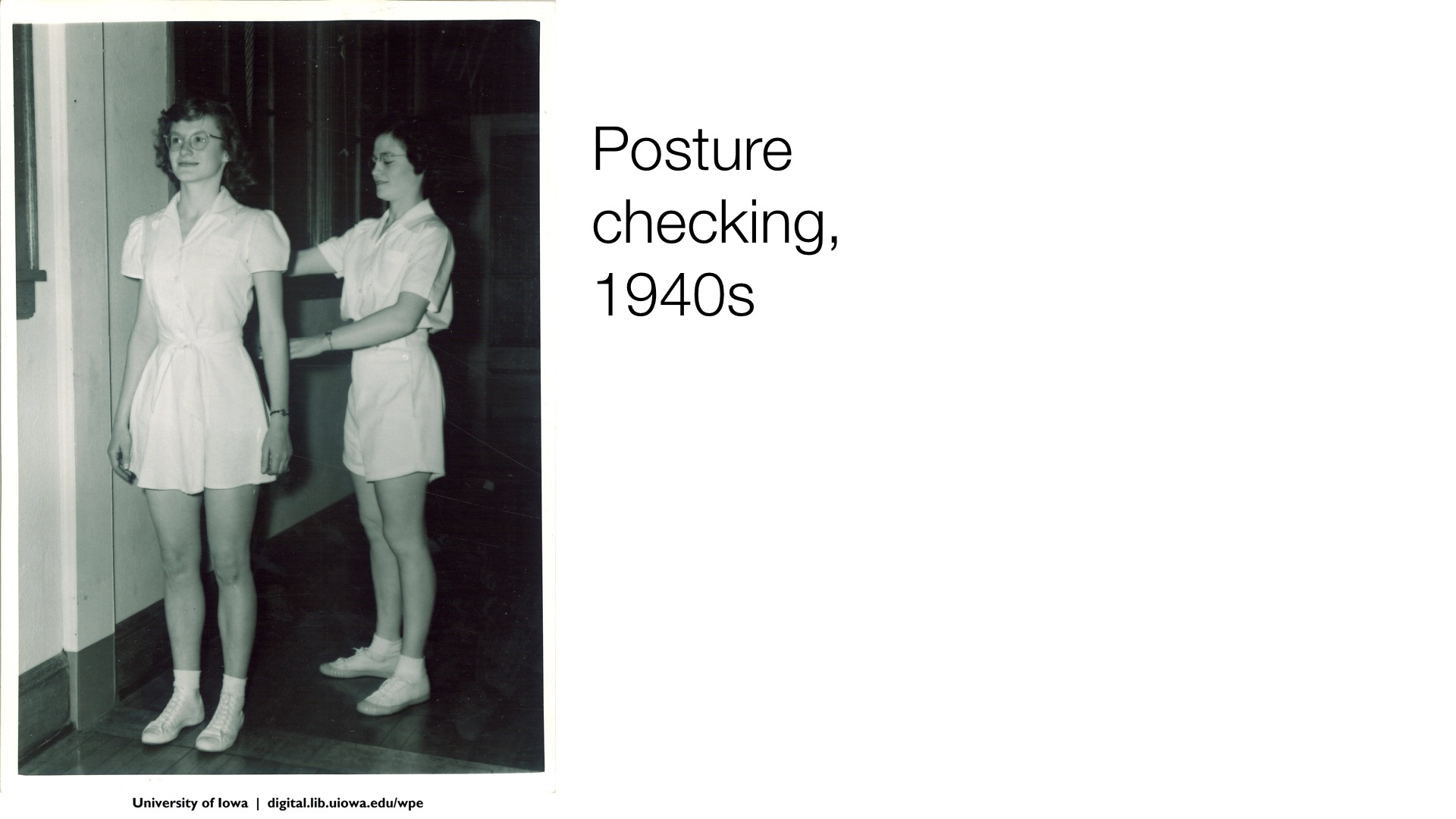 posture checking