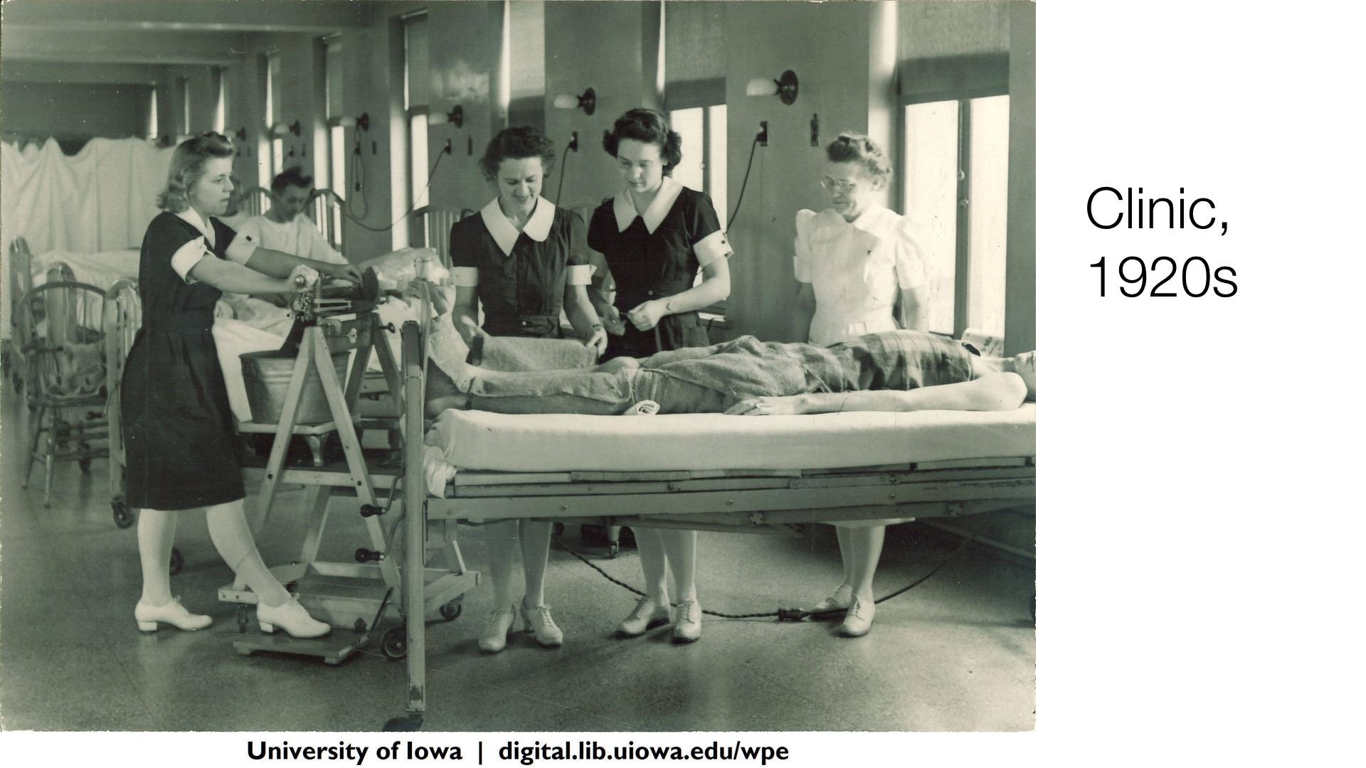 Clinic, 1920s