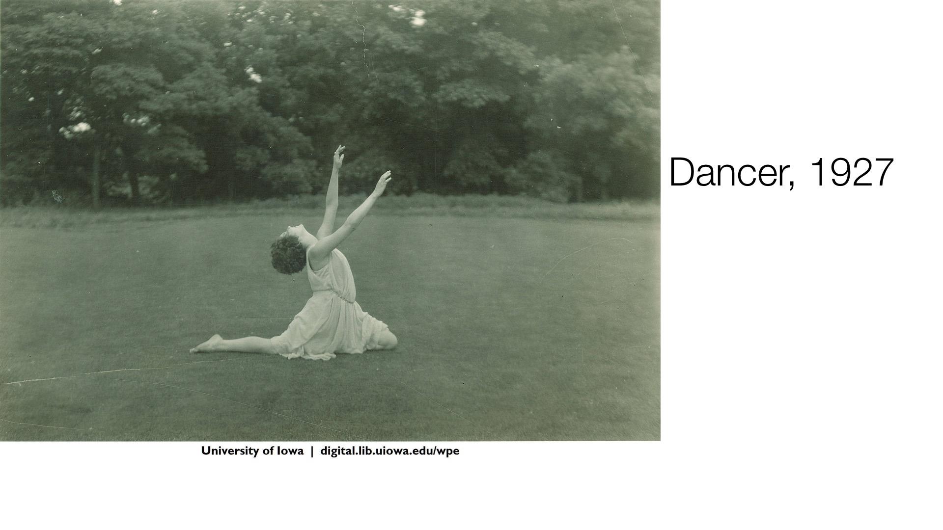 Dancer, 1927