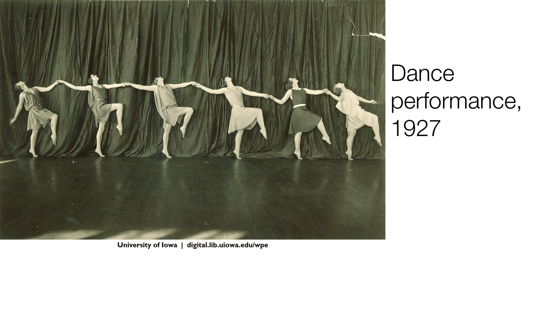 Dance Performance, 1927