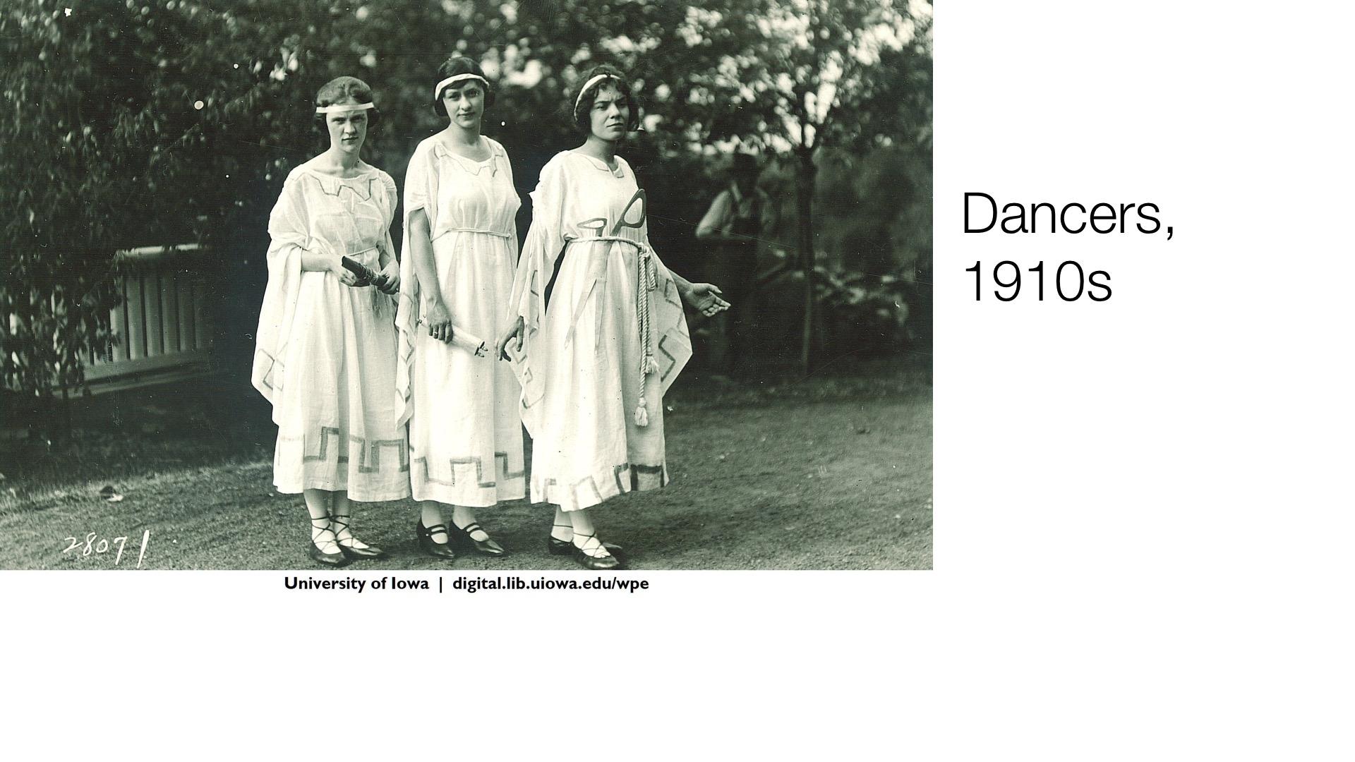 dancers, 1910s