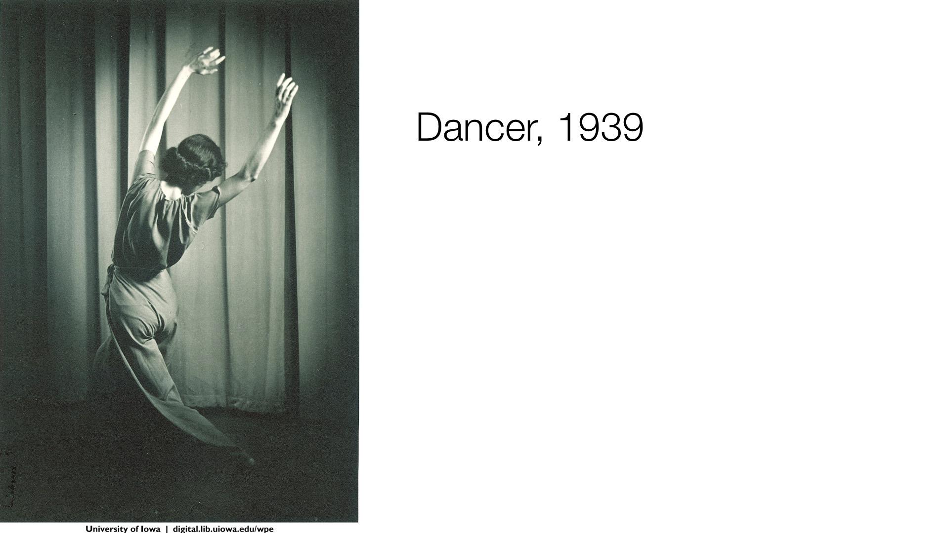 Dancer, 1948