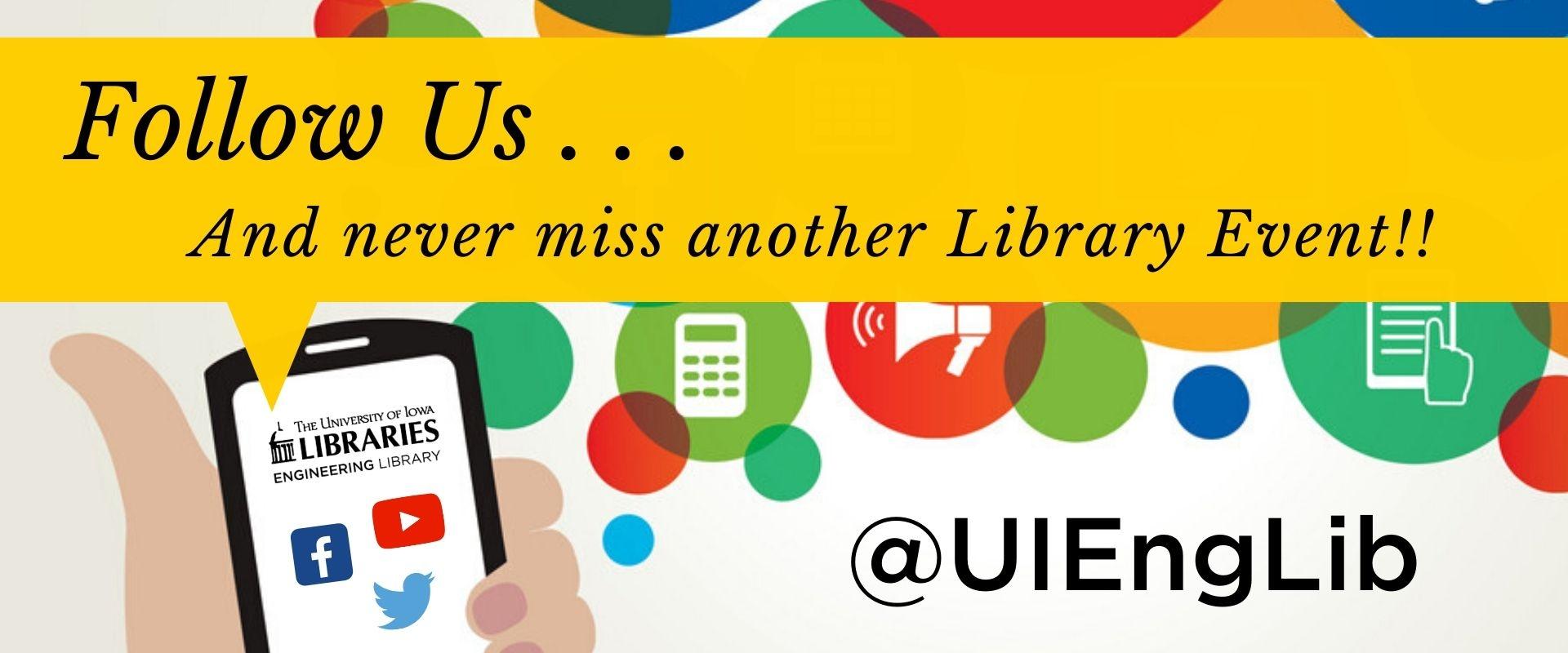 LIB_Follow Us on Social Media